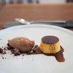 ヴェーナ - プリンとチョコアイス