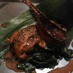 舟町一期 - 秋刀魚の肝醤油焼き