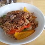 レストラン 一本松 - 焼肉丼