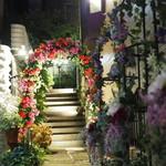 ラブレー - 花がいっぱいの外観