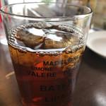 CAFE ARCA&CO. - ジンジャーピーチティー(フリードリンクコーナーより)