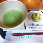 ういろう - 上生菓子と抹茶