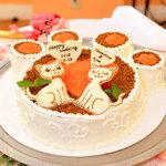 フェスタ カリーナ - お客様のご希望されるデザインでケーキを作ります。