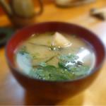 巻の禪 - 信州味噌汁