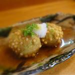 巻の禪 - 枝豆と豆腐の揚げ団子