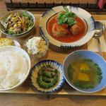ノムカフェ - ベトナム定食 A (ベトナムしゅうまい)2