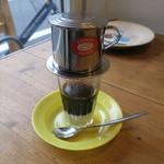 ノムカフェ - ベトナムミルクコーヒー1
