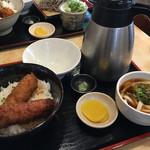 わだ泉 - レディース醤油カツ丼 950円