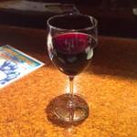 まるゲリータ - 赤ワイン グラス 550円
