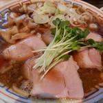 サバ6製麺所 - 鯖醤油そば