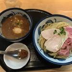 たけもと - 料理写真:【鶏と魚介の特製つけ麺…1,100円】◎2017/9