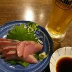 えいちゃん - ハマチの刺身