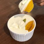 パティスリー プティ メルヴィーユ - 料理写真:かぼちゃのプリン 351円