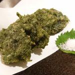 73278758 - 青さ海苔の天ぷら