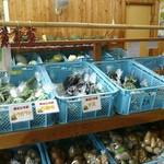 永源寺 ふるさと市場 - 売り場②