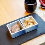 JASMINE 和心漢菜 - 前菜の牛スネ肉のにこぼり ピータン豆腐