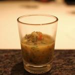 73284236 - 蛸トトマトの冷たいスープ