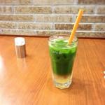 丸の内 CAFE 会 - アイスグリーンティー(アップルセパレート)