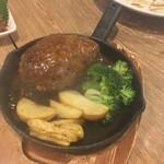 肉バルGABUTTO - ハンバーグ