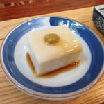 そばきり長助 - ごま豆腐