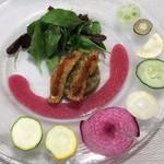 ビストロ ロカマドゥール - サラダ