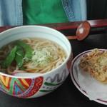 いやさか - 料理写真:天ぷらうどん650円風呂代込