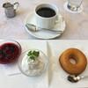 ラ プルーズ東京 - 料理写真:焼きドーナツセット 1,000円