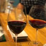 富士屋本店 - グラスワイン おまかせで