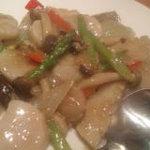 三味 - 貝柱と野菜の炒め物