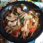 ルイジアナママ - イタリア料理店なのに、パエリアが美味しいです。       パエリアランチ(2,020円税込)は2人前からです。