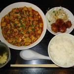 醤じゃん - 麻婆豆腐ランチ(\800)