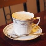 コーヒーショップラルゴ - カフェオレ