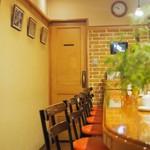 コーヒーショップラルゴ - 内観(カウンター)