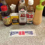ステーキハウス88 - 調味料たち