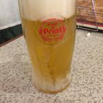 ステーキハウス88 - オリオン生ビール