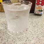 ステーキハウス88 - 残波 黒グラス