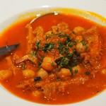 アナログ舎 - トリッパとひよこ豆のトマト煮込み