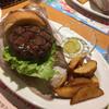 炭焼きレストランさわやか - 料理写真:炭焼きバーガーセット ポテト付き *ピクルス別添え