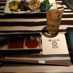 韓の台所 別邸 - テーブルセット