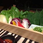 韓の台所 別邸 - サンパ(包み野菜)