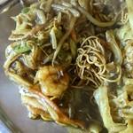 中華料理 八戒 - 細揚麺カレー