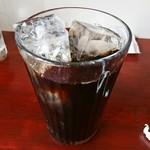 中華料理 八戒 - 食後のアイスコーヒー