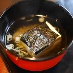瓢亭 - 湯豆腐