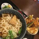 四国屋 - 天丼セット960円