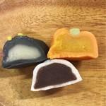 シャトレーゼ - ハロウィン和菓子詰め合わせ 420円(税込) (かぼちゃ・おばけ・黒ねこ)