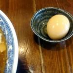さぶろう - 味玉は別皿で来ました。