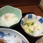 魚 めし処 川佳 - おろしと漬物