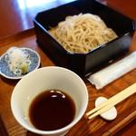 城山坊 - 料理写真:もりそば(\600税込み)
