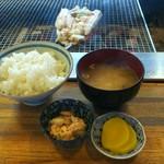 73296187 - ホッケのちゃんちゃん焼き定食(1400円)