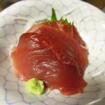 魚魚や 鯛一 - バチマグロ刺身